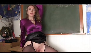Mistress Schoolteacher And Her Student