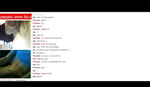 blond is witnessing me omegle