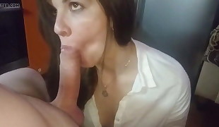 Blowjob skills with passion