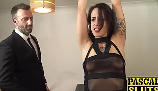 Rough face fuck and fuckbox stuffing with Lilyan Red