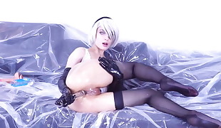 Hottest costume play of 2B Nier of history