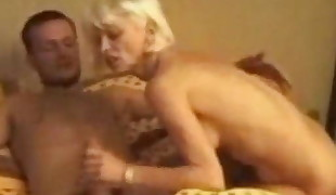 I am Pierced granny with pussy piercings gets booty penetrated ha